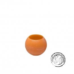 Vela Esfera IBIZA  Flotante NARANJA 10 cms.