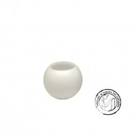 Vela Esfera IBIZA Flotante CREMA 10 cm.s