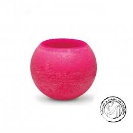 Vela Esfera IBIZA  Flotante ROSA 20 cms.
