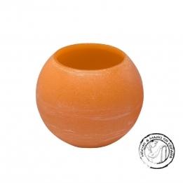 Vela Esfera IBIZA Flotante NARANJA 20 cms.