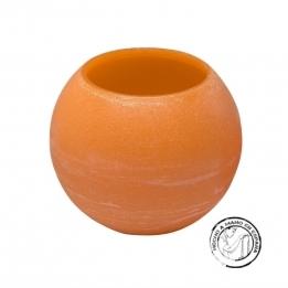 Vela Esfera IBIZA Flotante NARANJA 30 cms.