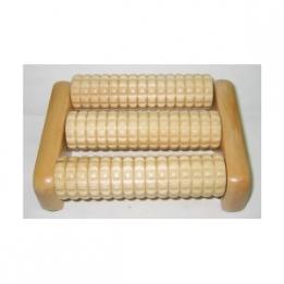 Masajeador Pies 3 Rodillos 17*6*5 cm