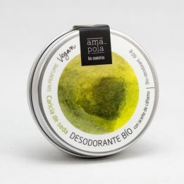 Desodorante Bio Sólido 60gr CARICIA DE SEDA