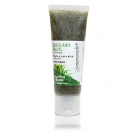 Exfoliante Facial Aloe Vera-Bambu 100 ml