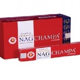 Incienso Golden NAG CHAMPA 15 gr.