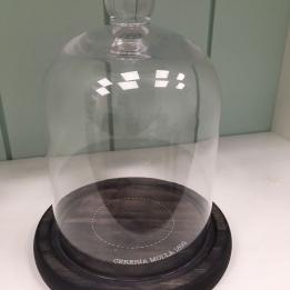 Cupula Cristal 11.5x20  cms.