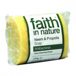 Jabón Natural Neem y Propolis 100 gr.