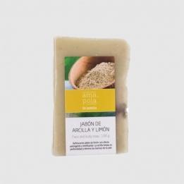 Jabón de ARCILLA y LIMÓN Amapola 100grs
