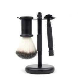 Kit de afeitado BANBU negro mate
