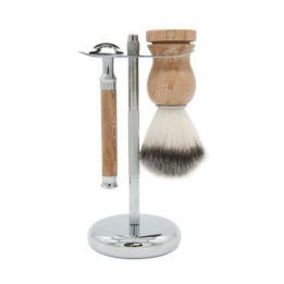 Kit de afeitado BANBU Madera