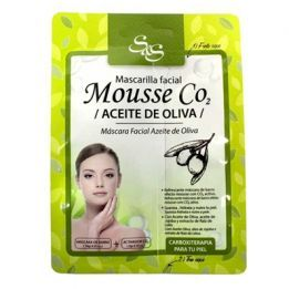 Mascarilla Facial Mousse CO2 Aceite 13ml