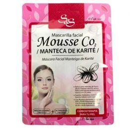 Mascarilla Facial Mousse CO2 Manteca 13ml