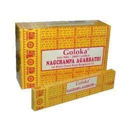 Incienso  Goloka NAG CHAMPA 16 gr.