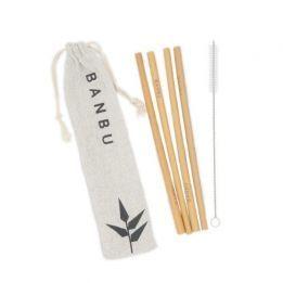 Pajitas BANBU reutilizables de Bambú