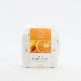 SALES del Mar Muerto AMAPOLA Naranja 200grs